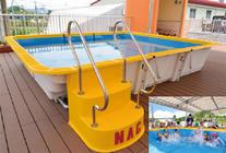簡易式組立型プール Fun Pool (ファンプール)